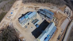 All 3 Buildings Drone Photo