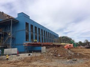 East Elevation Stem Building
