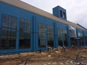 Gazing Installation at the STEM Building