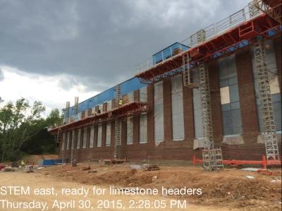 STEM East Ready For Limestone Headers