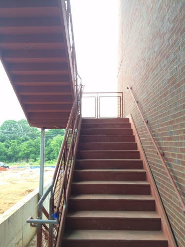 STEM North Stairs