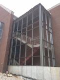 Stairs & Curtainwall