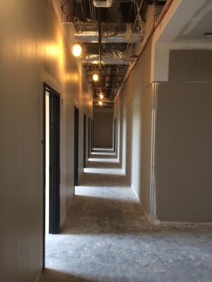 STEM Upper Hallway