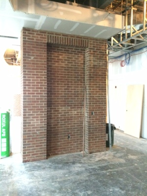 Lobby Brick Veneer