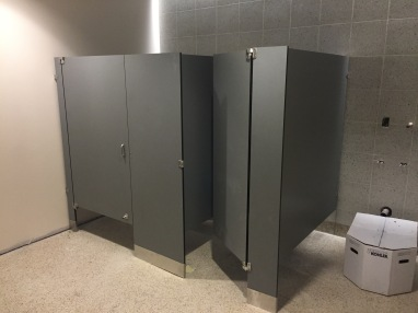 STEM Toilet Compartment Installation